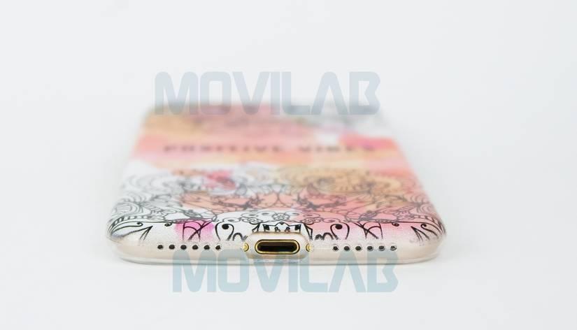 Funda Apple Iphone 7 conectores