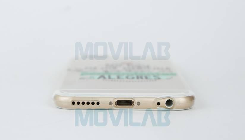 Funda gel Slim Iphone 6 conectores