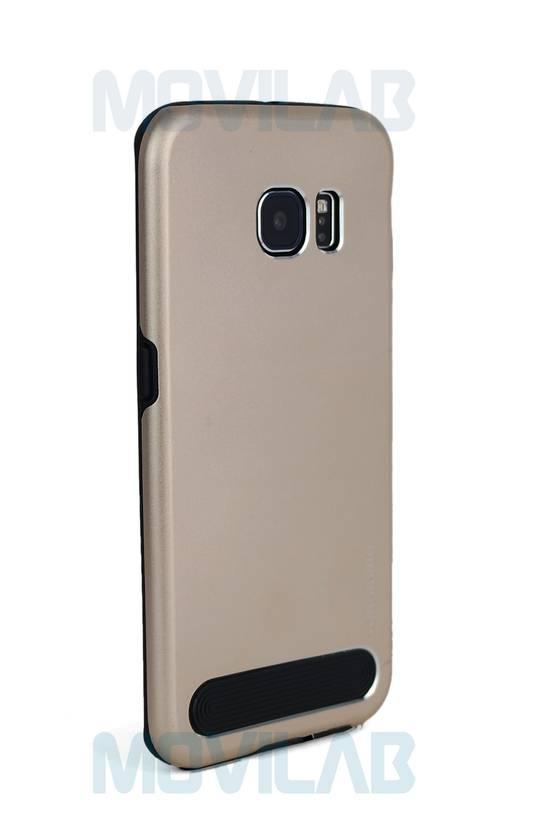 Funda aluminio Motomo Galaxy S6 Edge trasera