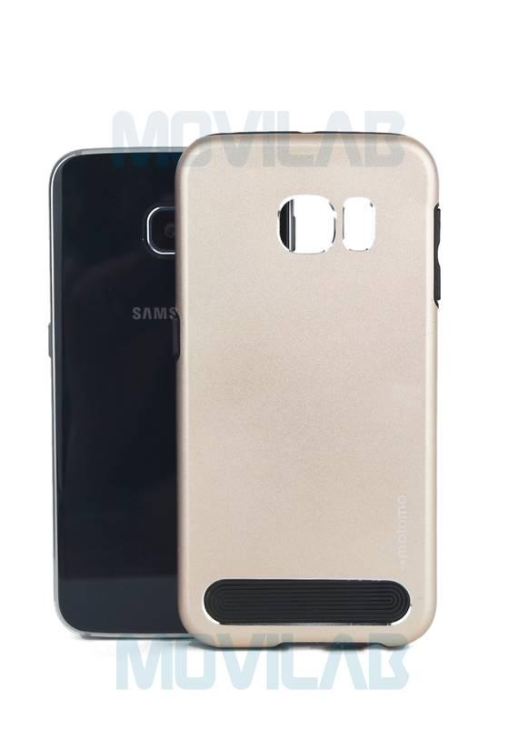 Funda aluminio Motomo Galaxy S6 Edge
