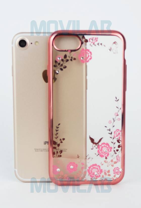 Funda gel slim Iphone 7 trasera
