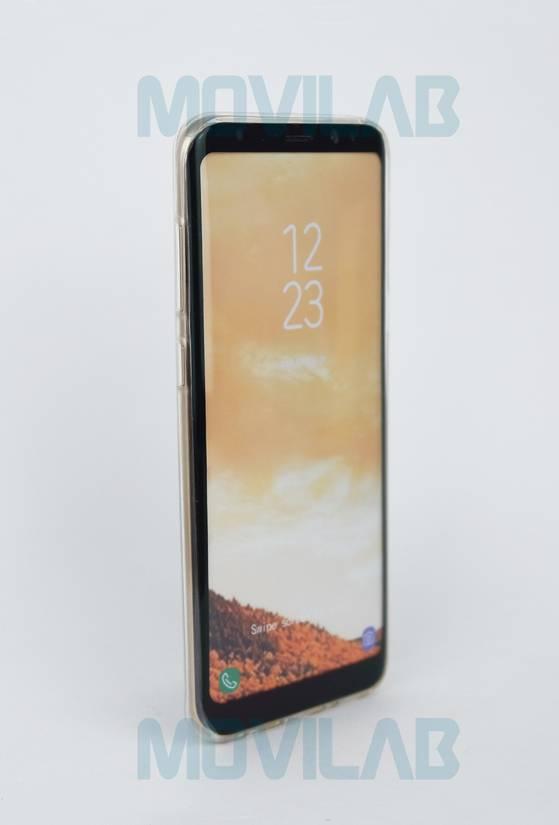 Funda gel slim Galaxy S8 Plus frontal