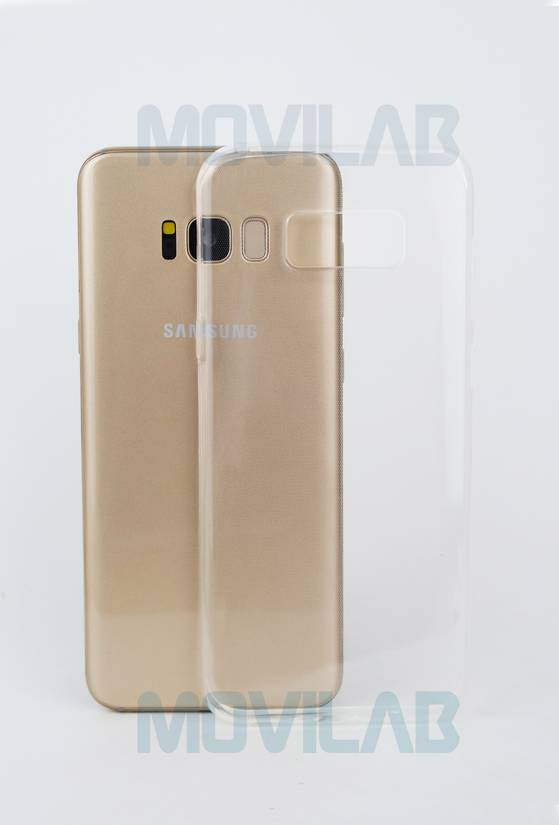 Funda gel slim Galaxy S8 Plus trasera