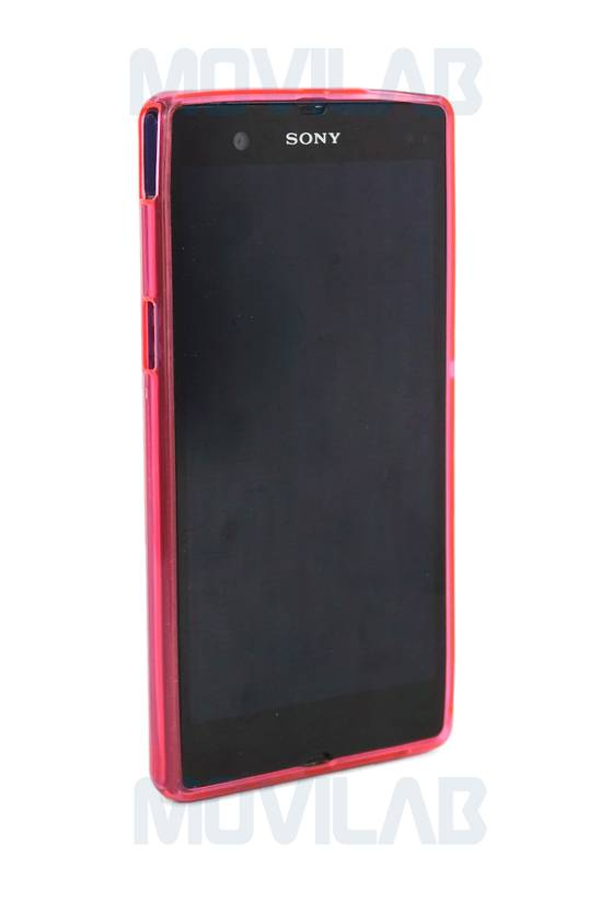 Funda gel Xperia Z frontal