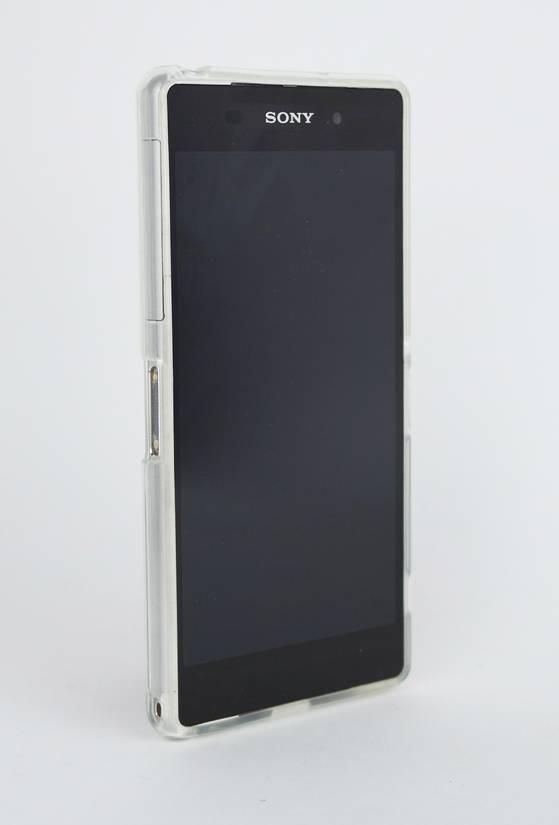 Funda gel Xperia Z2 frontal transparente