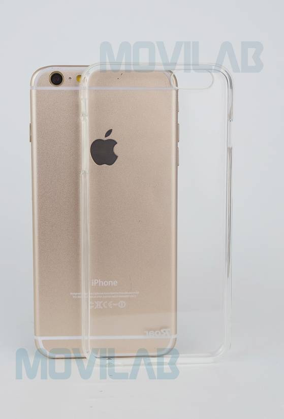 Funda gel Roar Apple Iphone 6 Plus frontal