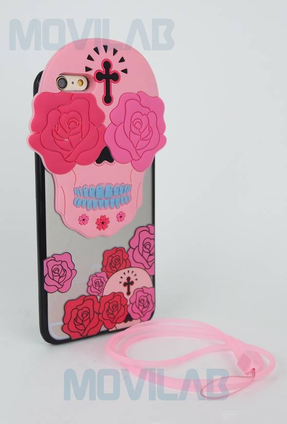 Funda carcasa Iphone 6 Plus goma TPU