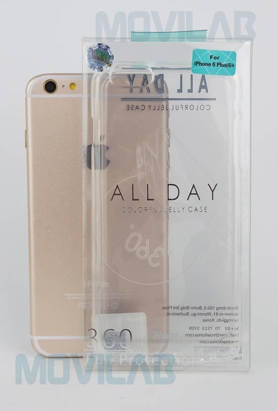 Funda gel Roar Apple Iphone 6  Plus