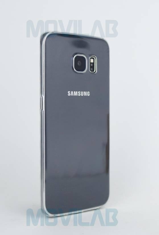 Funda gel slim Galaxy S6 Edge trasera