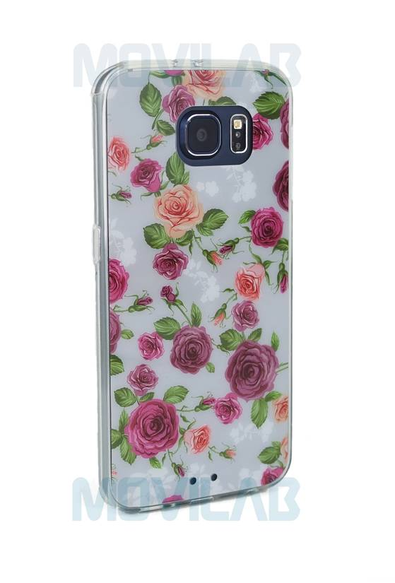 Funda semi Samsung Galaxy S6 lateral