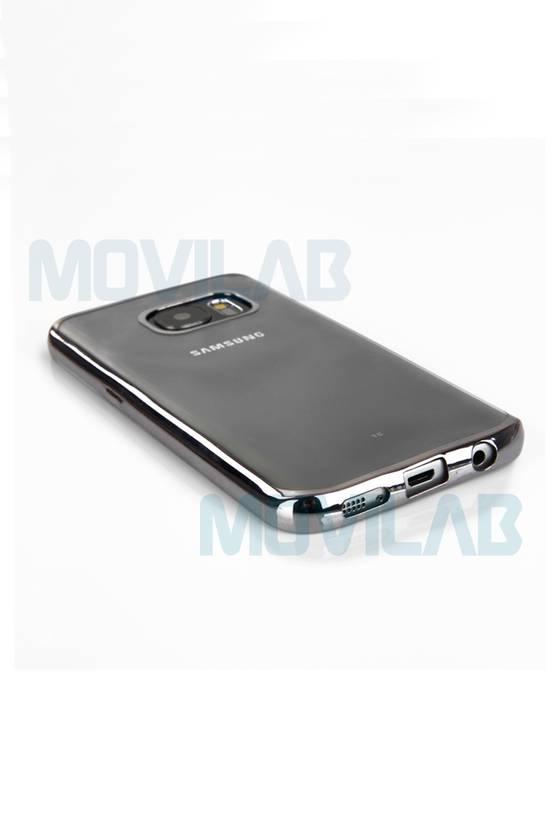 Funda semi Galaxy S7 Edge puesta