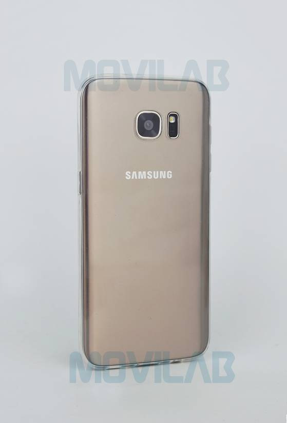 Funda gel slim Galaxy S7 Edge trasera