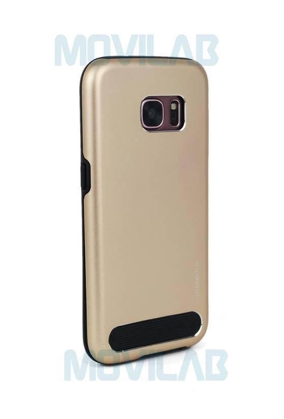 Funda aluminio Motomo Galaxy S7 trasera