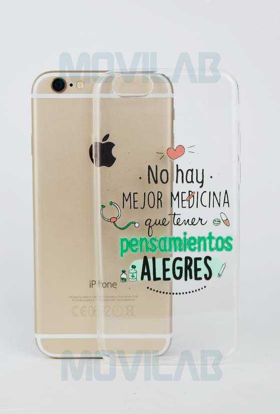 Funda gel slim Iphone 6 trasera