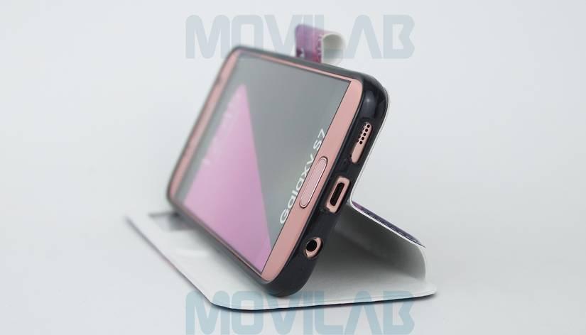 Funda Flip Samsung Galaxy S7 soporte