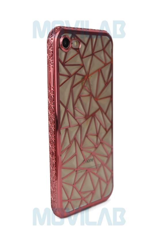 Funda carcasa Apple Iphone 7 luxury trasera