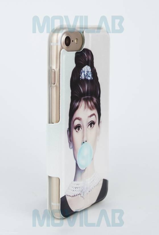 Funda flip Iphone 7 trasera