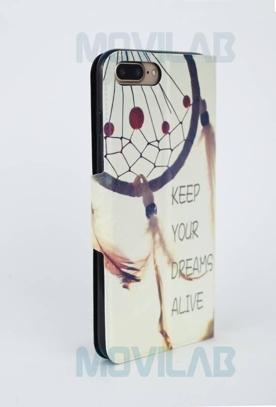 Funda flip Iphone 7 Plus trasera