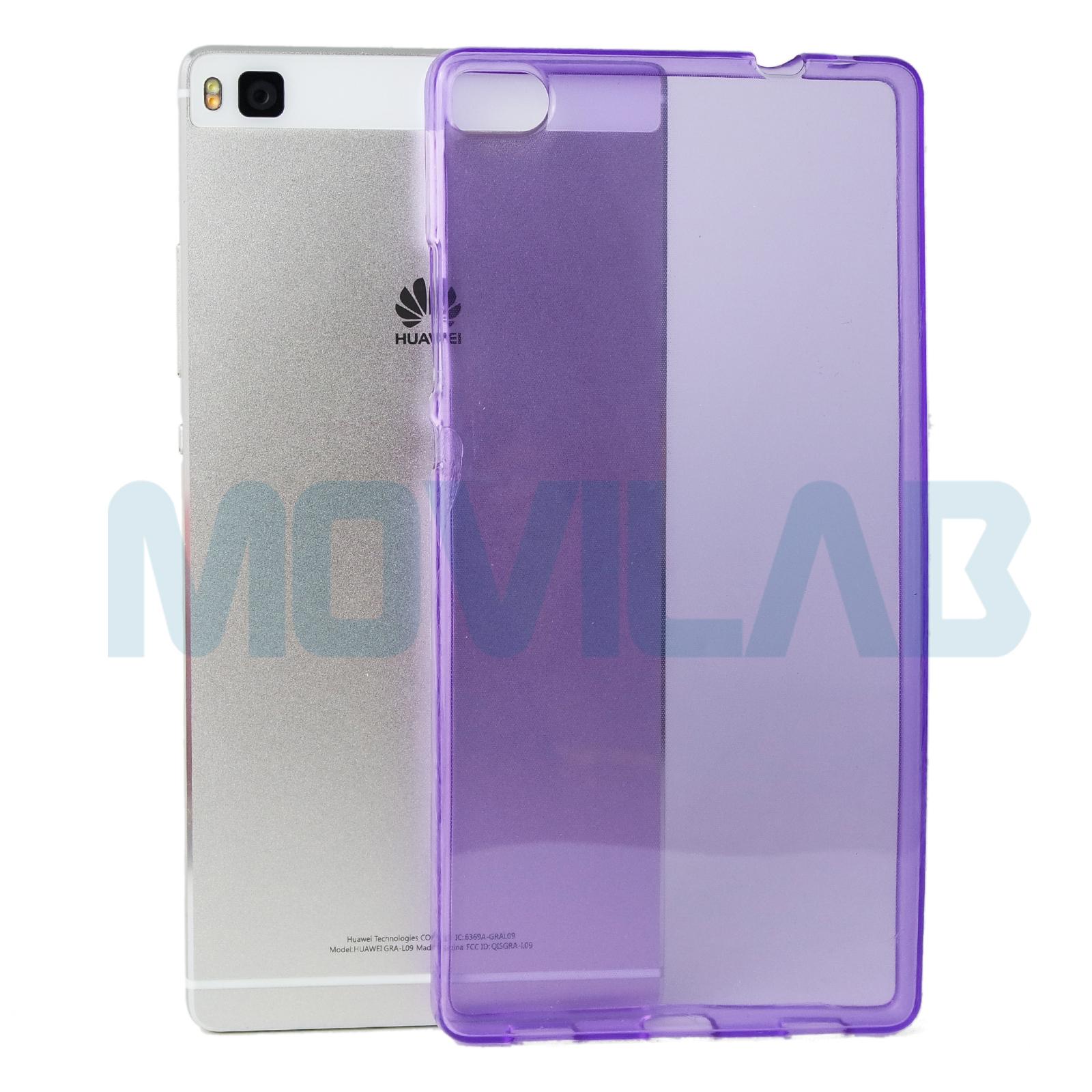 Funda Huawei P8 violeta