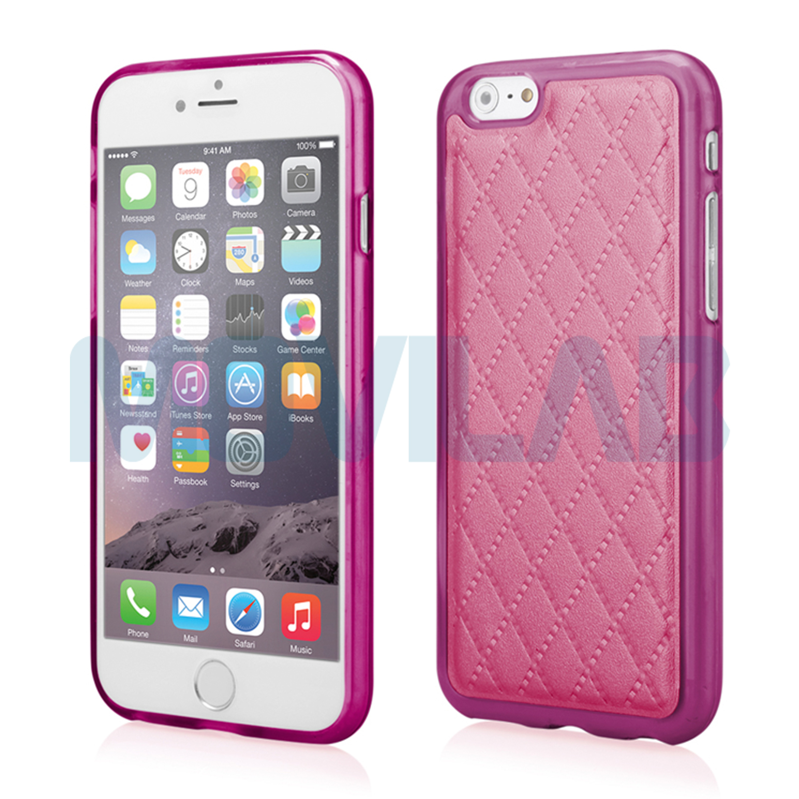 Funda semi Iphone 6 Plus Piel