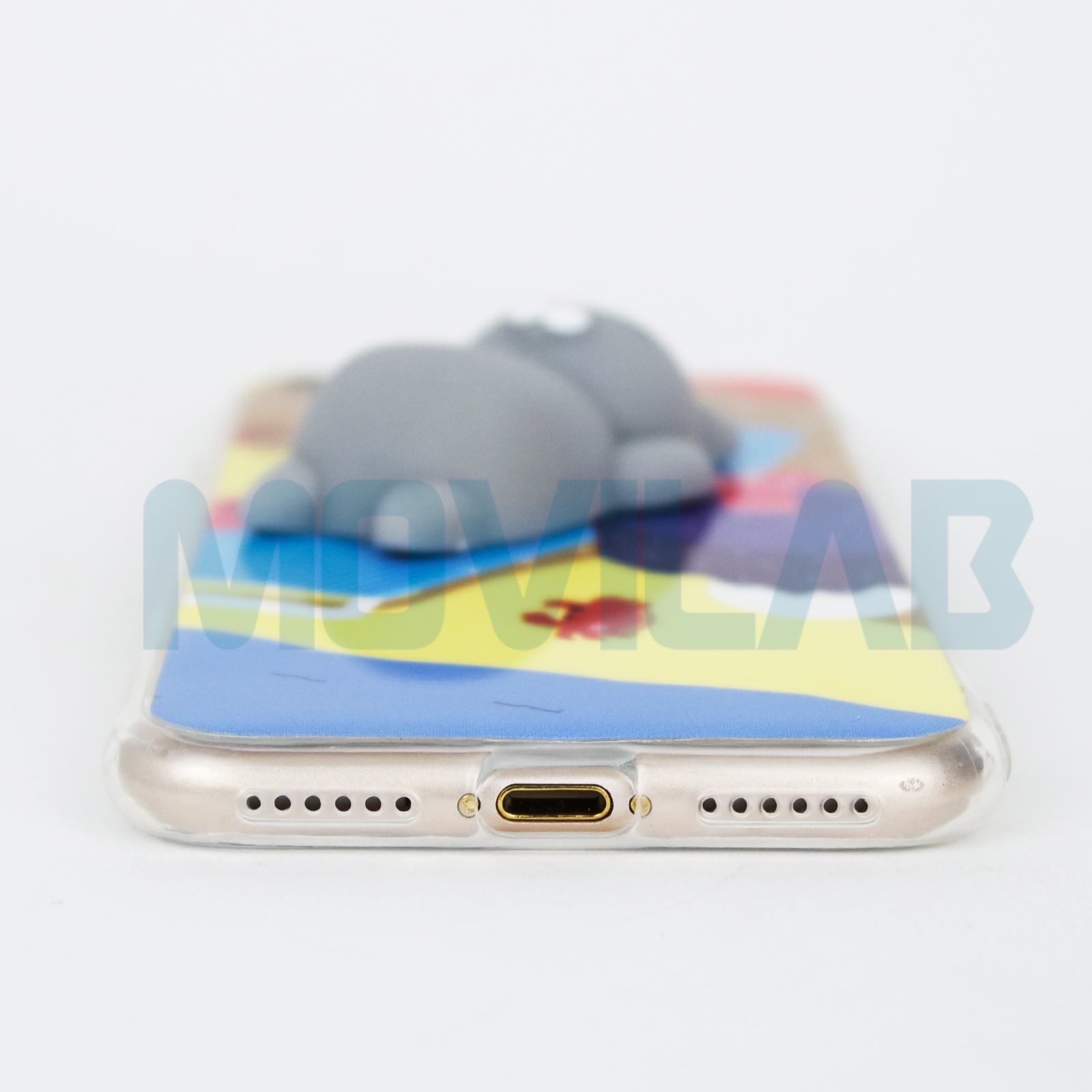 Funda gel Iphone 7 / 8 conectores