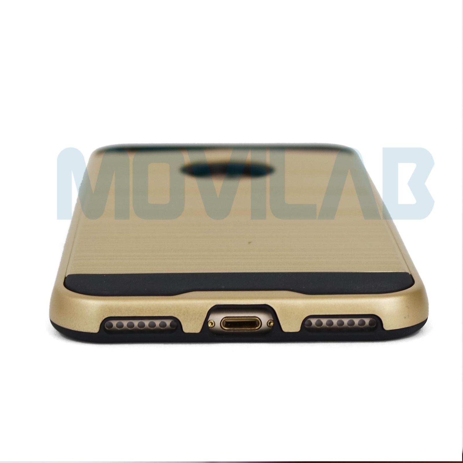 Funda Iphone 7 Plus Motomo conectores