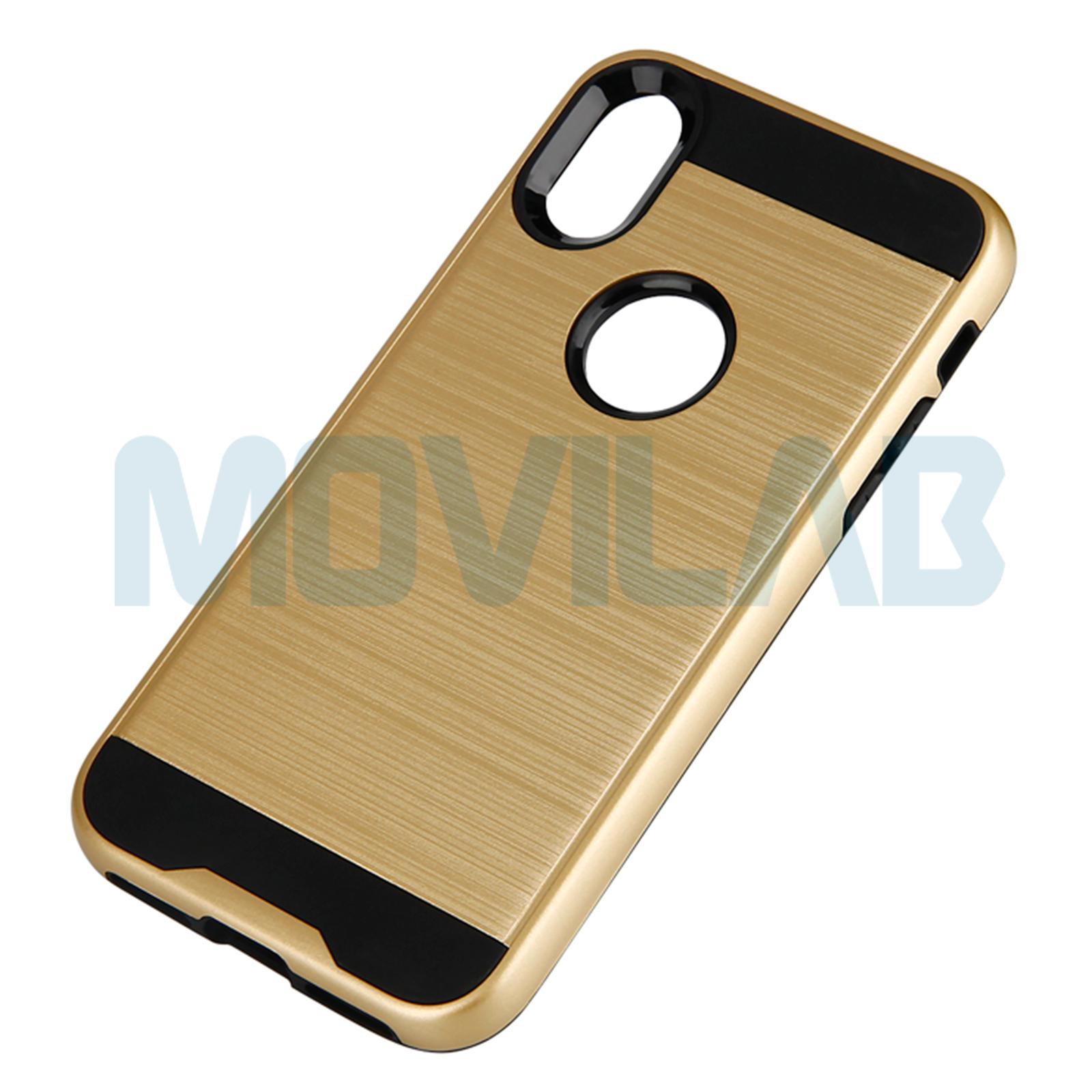 Funda Iphone X Motomo oro