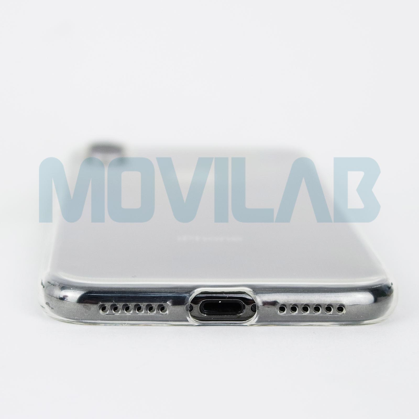Funda carcasa Apple Iphone X slim 0.5 conectores