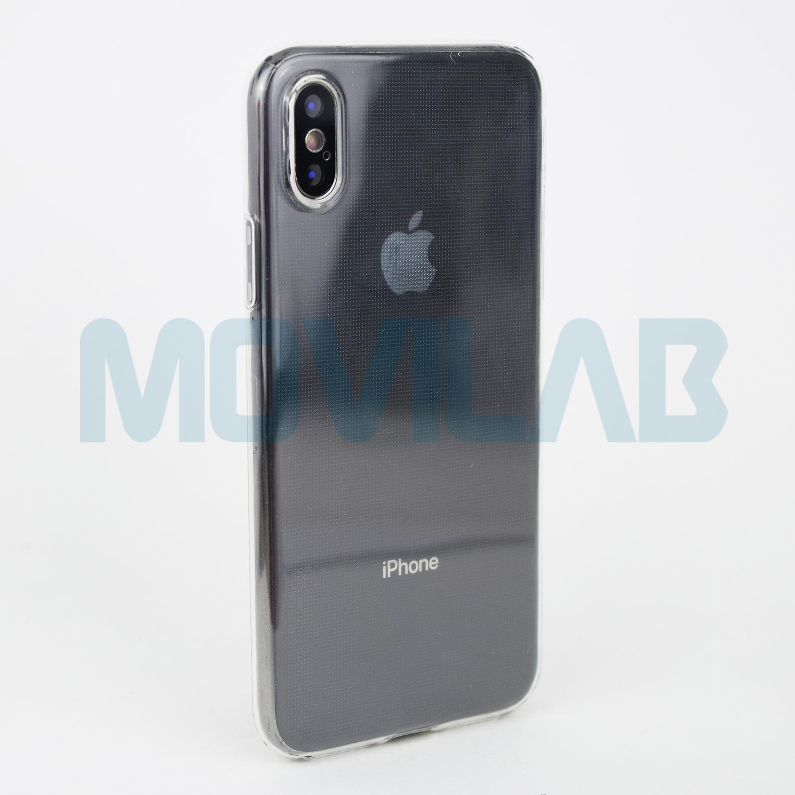 Funda carcasa Apple Iphone X 0.5 trasera