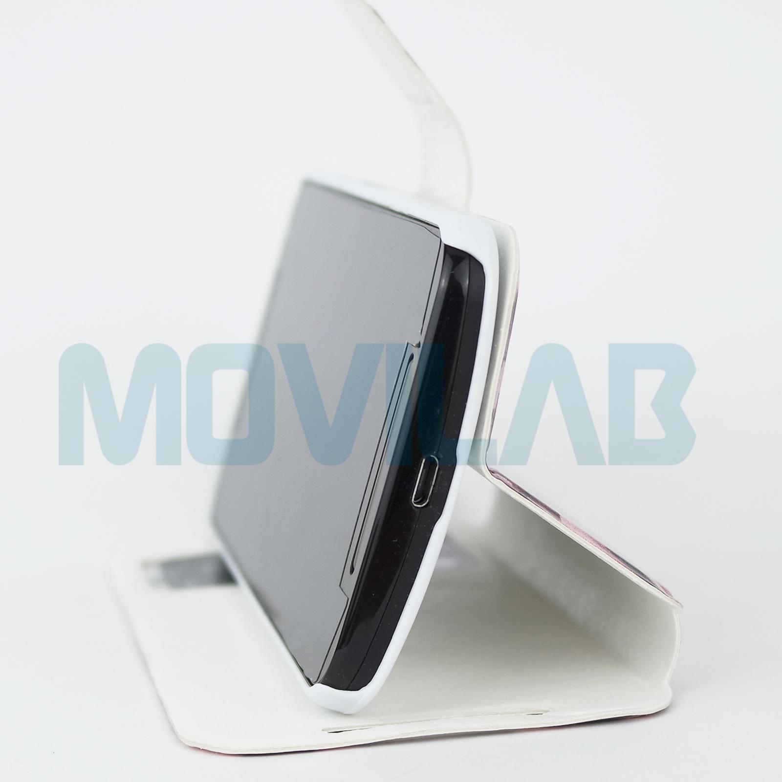 Funda libro Motorola Moto G2 conectores