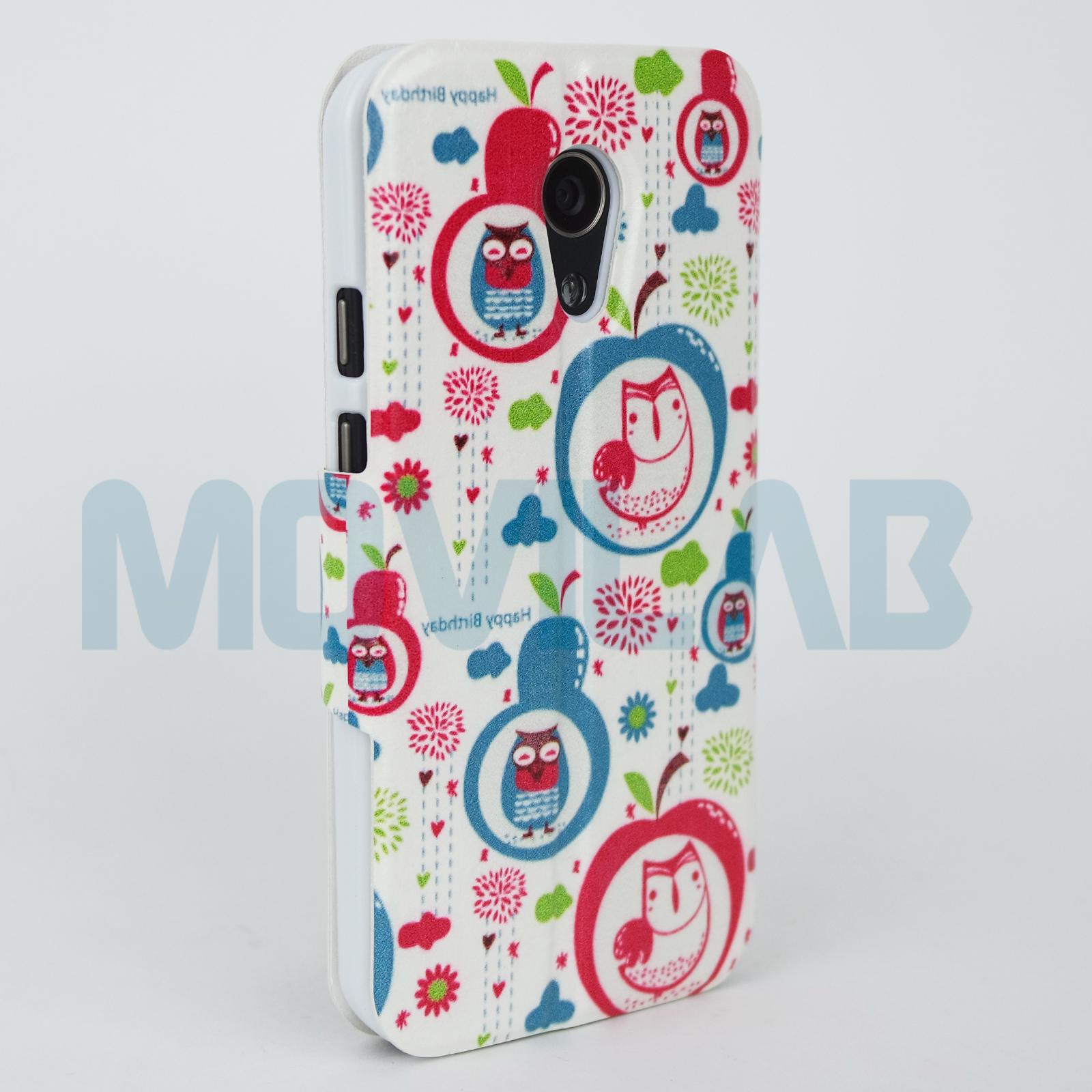 Funda libro Motorola Moto G2 trasera
