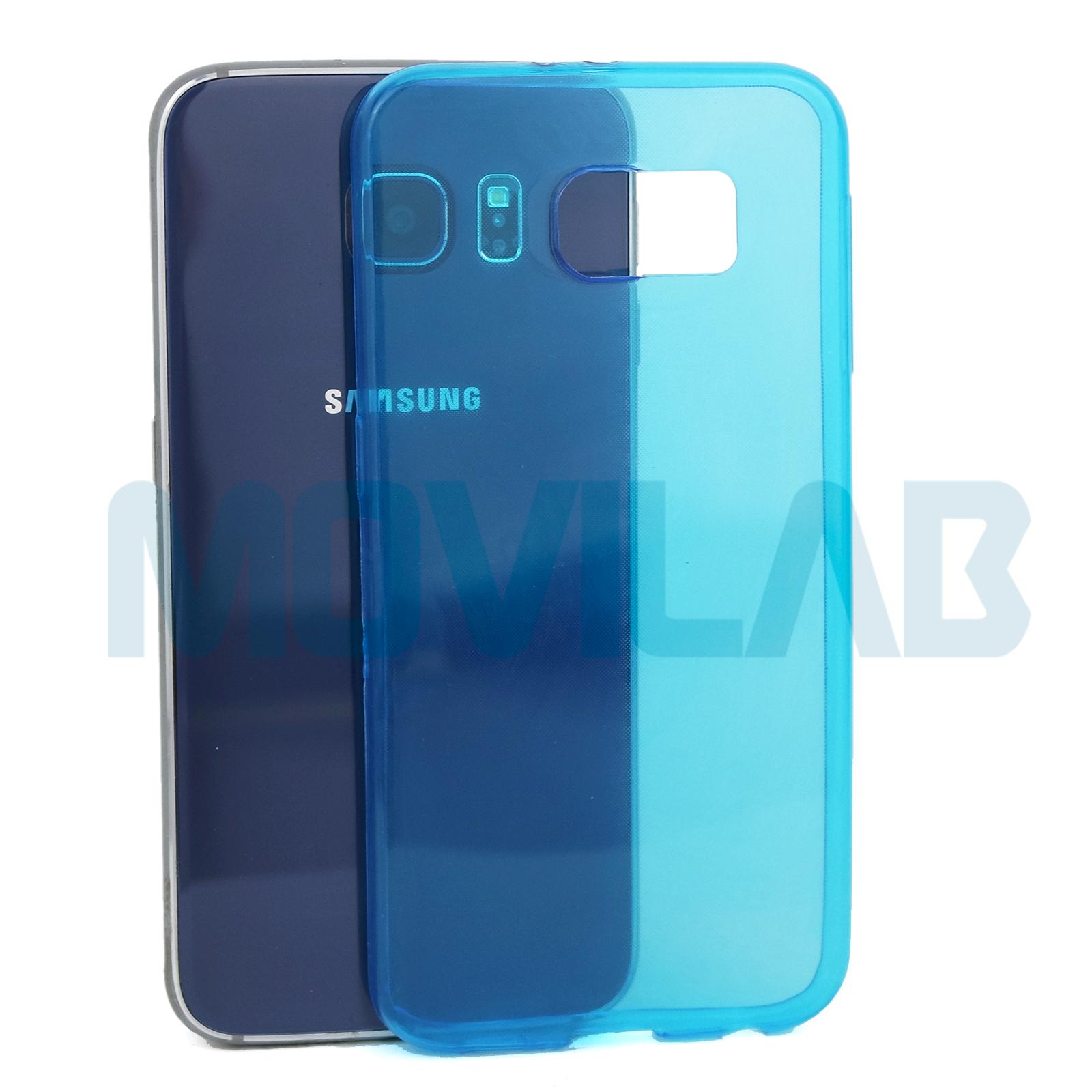 Funda gel Galaxy S6 trasera
