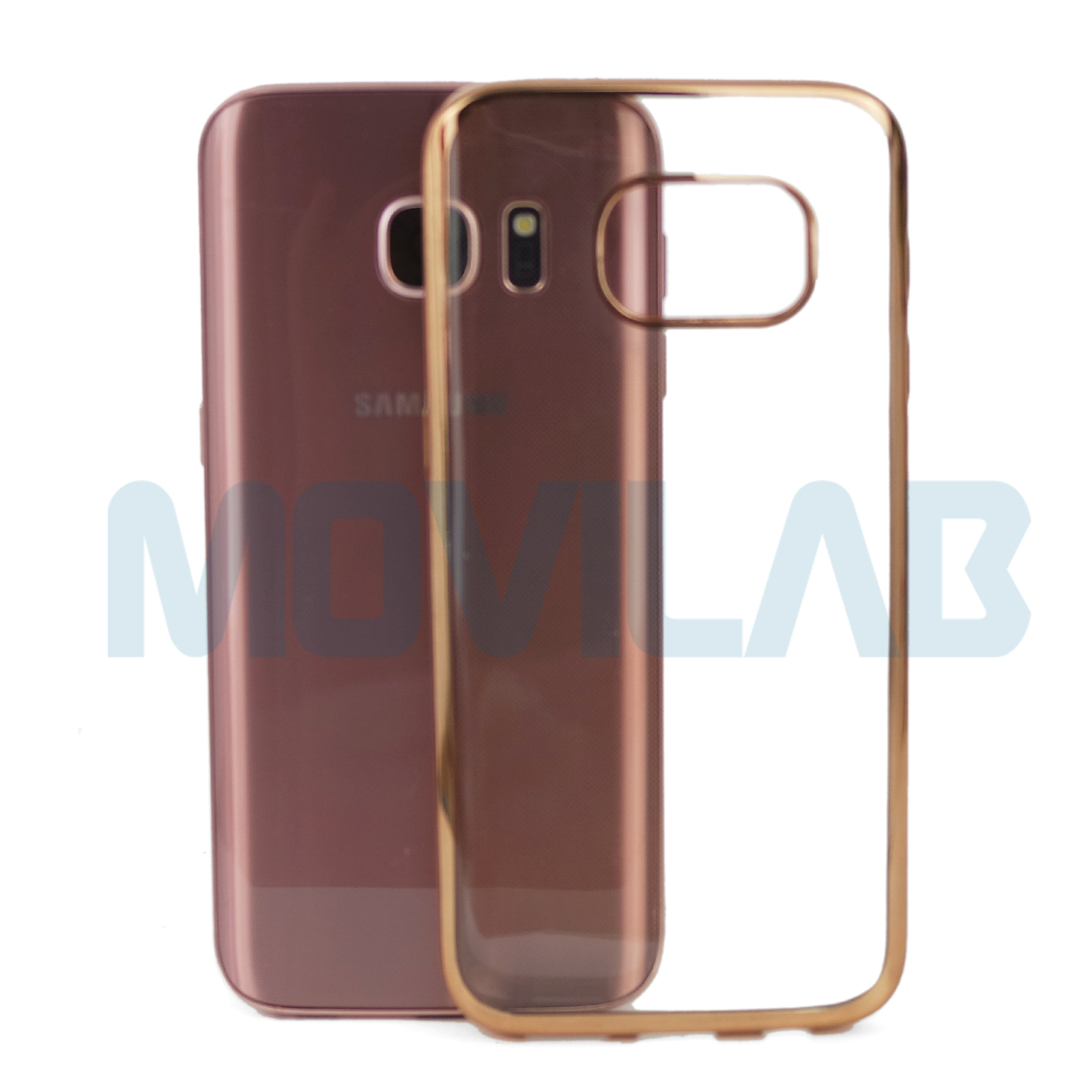 Funda Galaxy S7  borde cromado