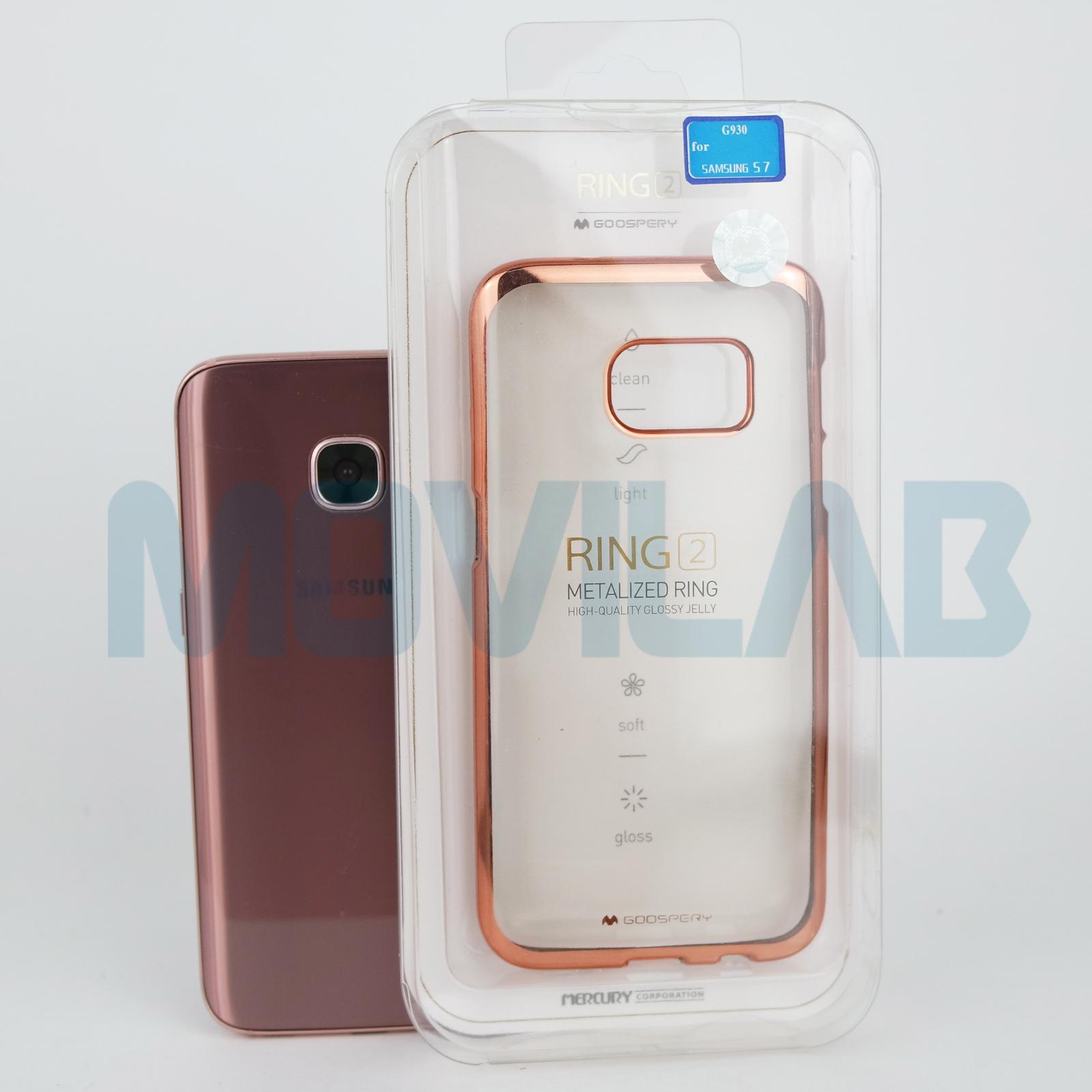 Funda Galaxy S7  cromada