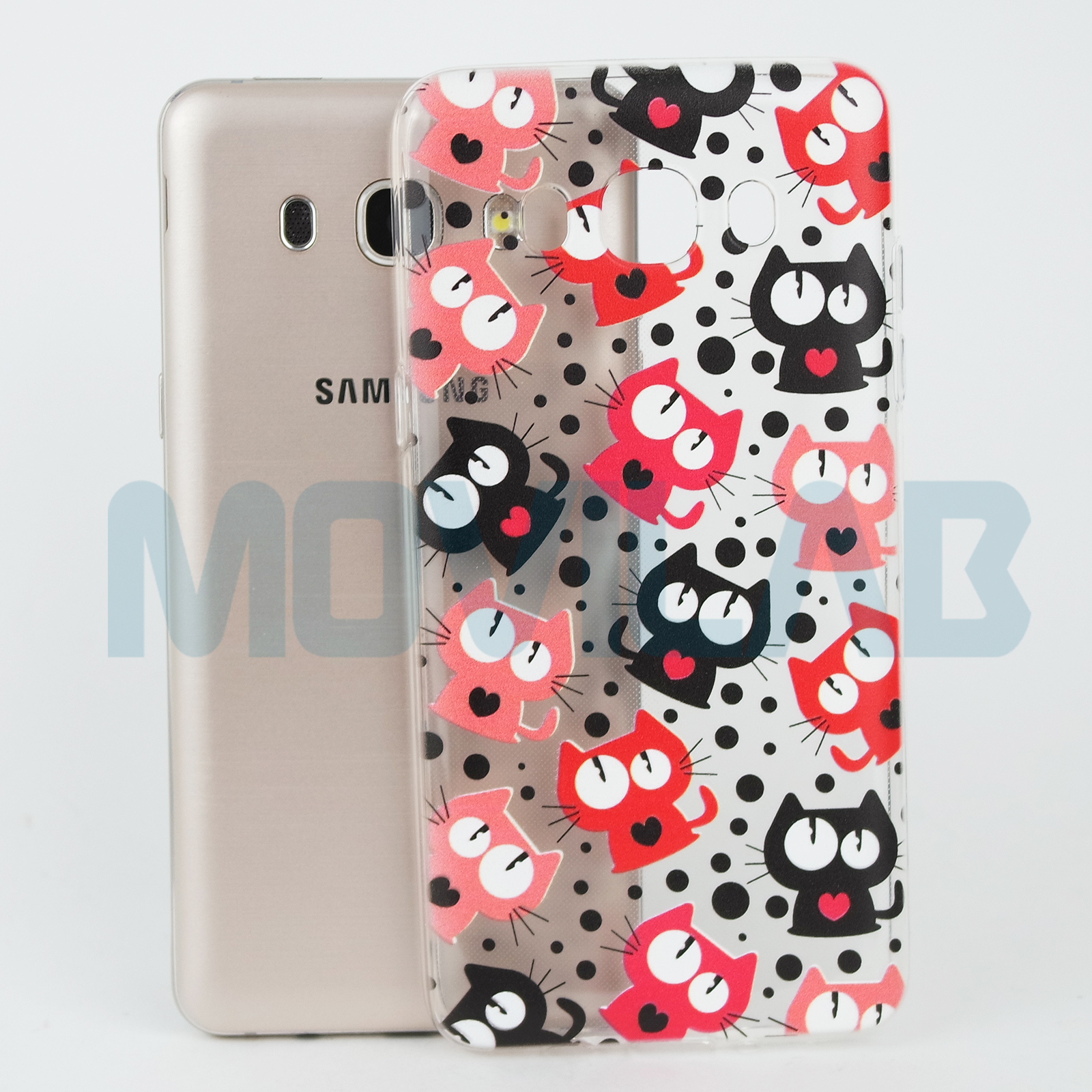 Funda Galaxy J5 2016 Gatos