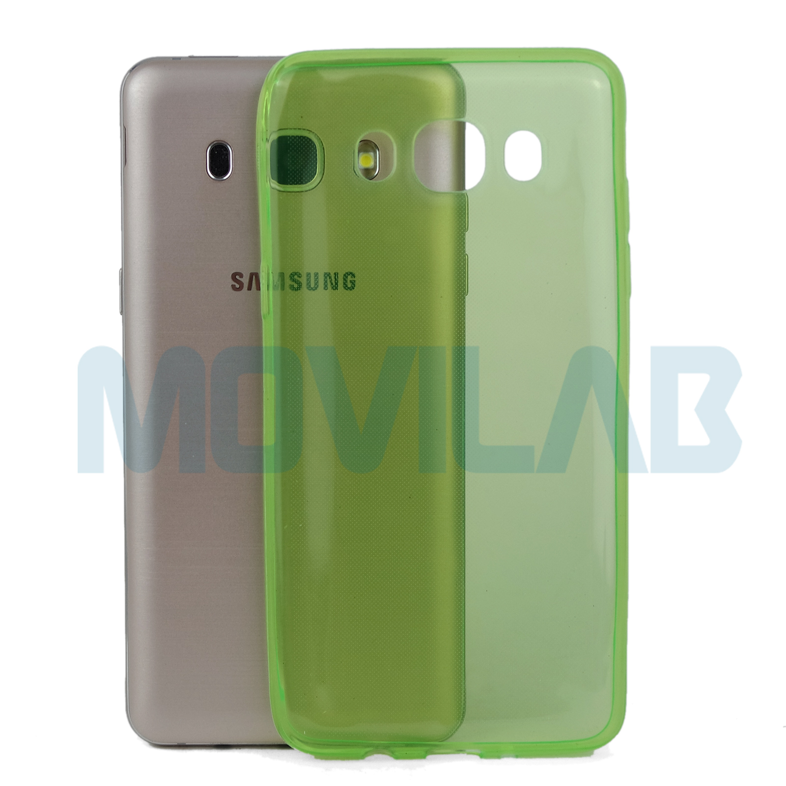 Funda gel slim Galaxy J5 2016 trasera