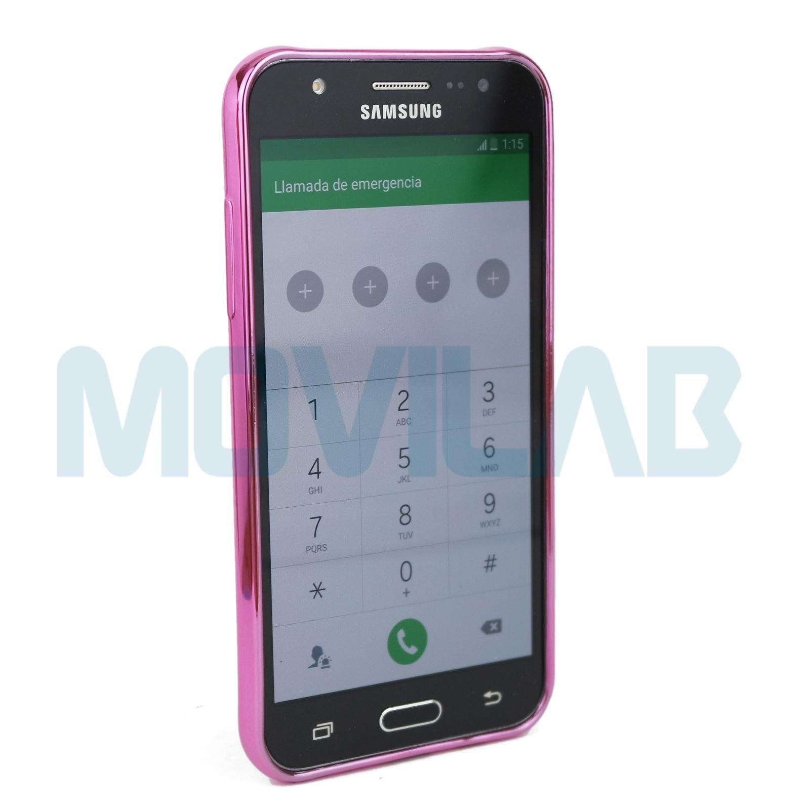 Funda Samsung J500 frontal