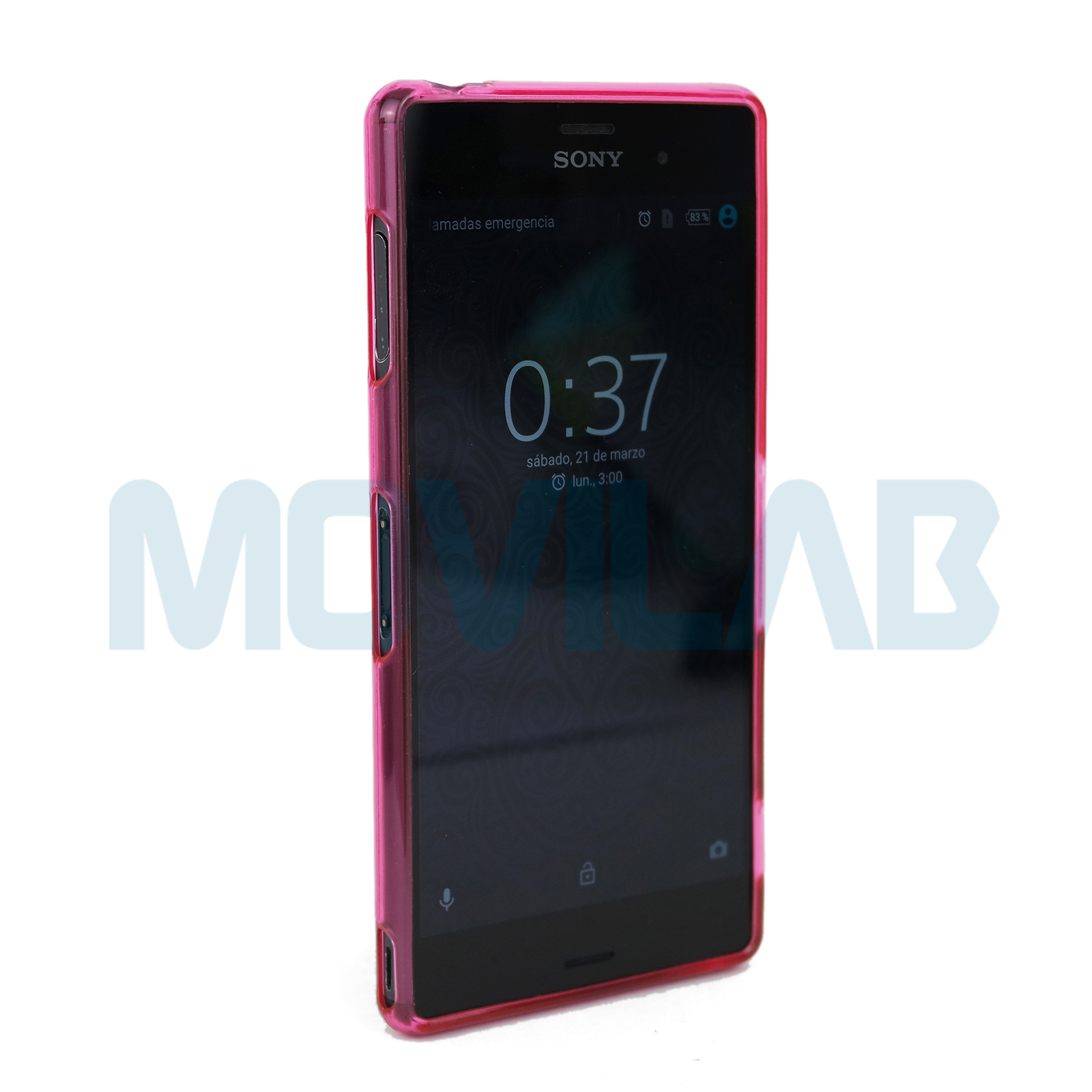 Funda Xperia Z3 frontal