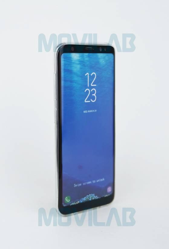 Funda gel slim Galaxy S8 frontal