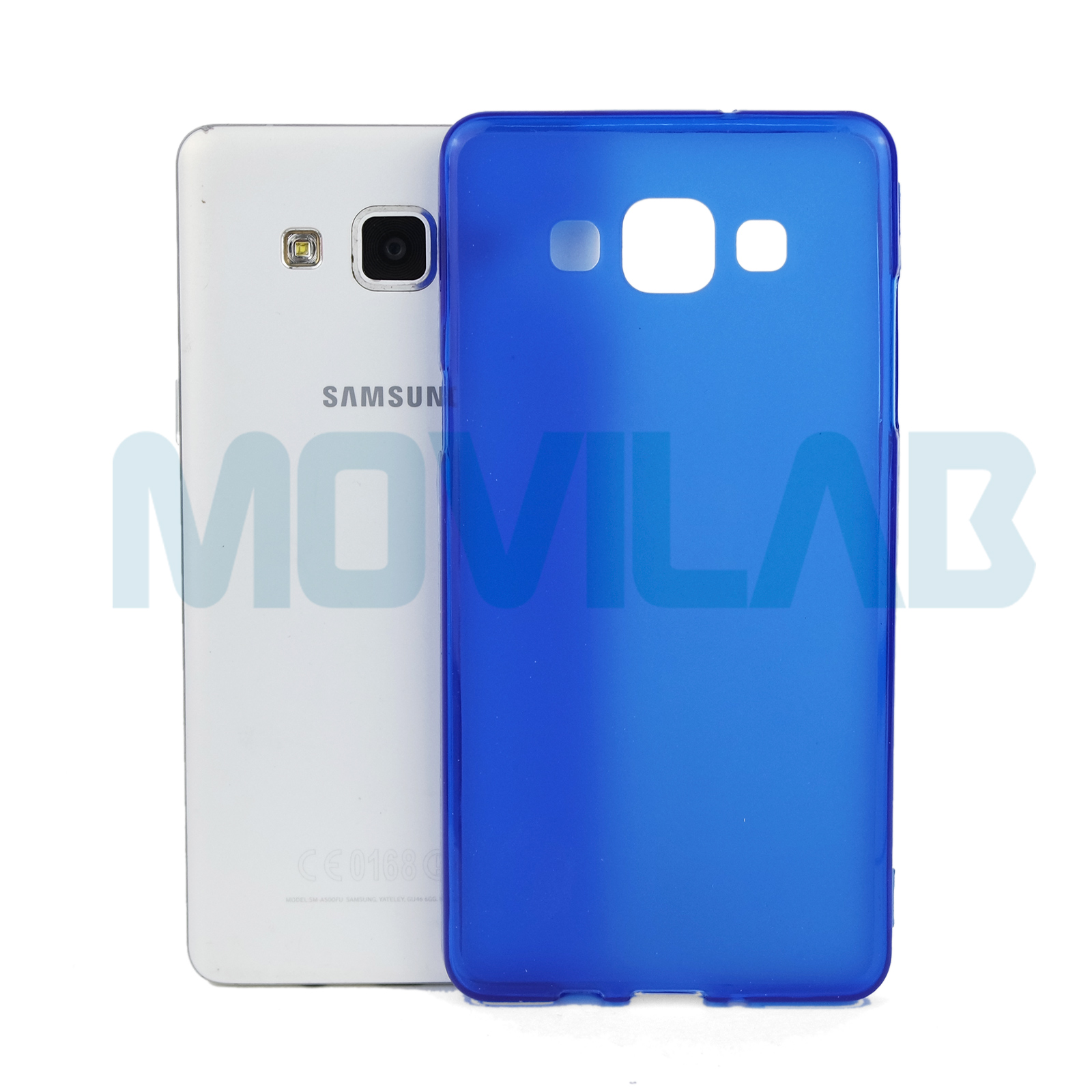 Funda Galaxy A5 azul antihuellas