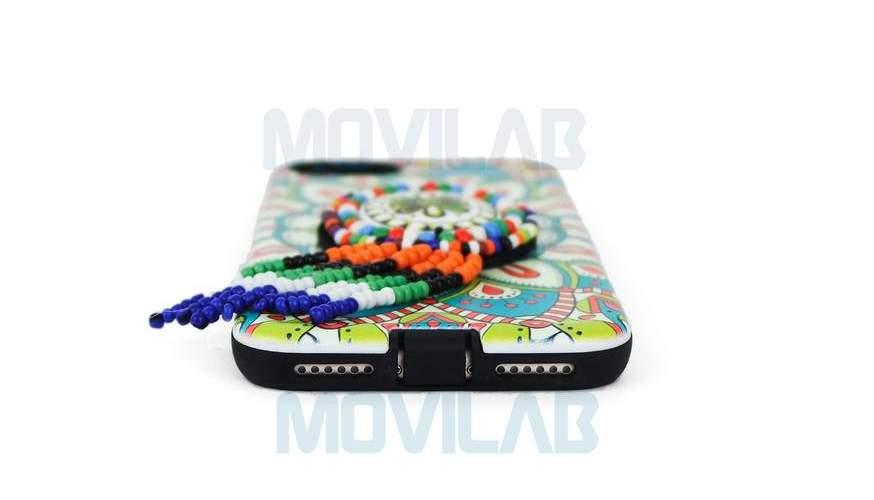 Funda carcasa Apple Iphone 7 Boho conectores